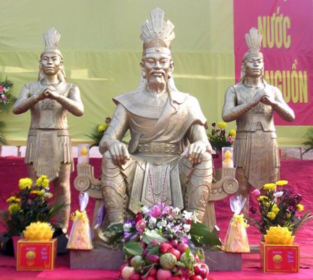 Tược Lạc Long Quân tại Đền Hùng