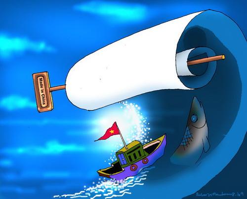 Biển Đông dậy sóng