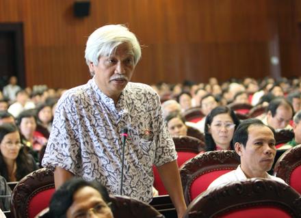 Đại biểu quốc hội Việt Nam Dương Trung Quốc. Nguồn: dantri.com