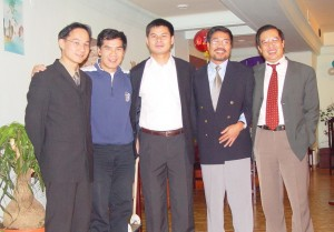 Từ trái sang: N.T.Sơn, T.N.Thành, Tiến, C.N.Quỳnh, LDĐức. Ành Đàn Chim Việt