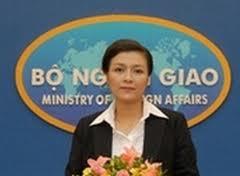 Phát ngôn viên Bộ Ngoại giao VN, Nguyễn Phương Nga. Ảnh on the net