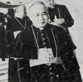 Hồng y Trịnh Như Khuê. Ảnh Nữ Vương Công Lý