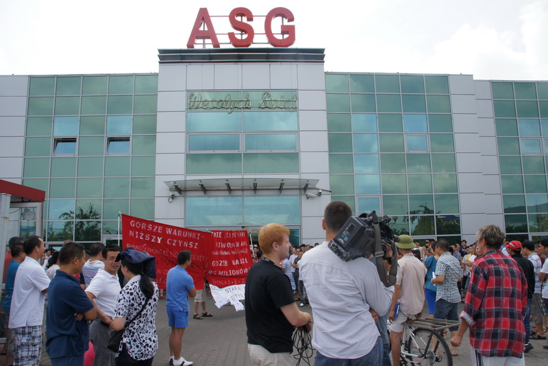 Đã diễn ra ít nhất 3 đợt biểu tình ở ASG vào tháng 7/2012. Ảnh Đàn Chim Việt
