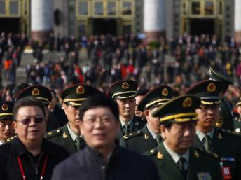 Giáo phái « Thượng đế toàn năng » muốn tiêu diệt đảng Cộng sản Trung Quốc mà họ gọi là con « rồng đỏ ». Ảnh Đại biểu dự Đại hội đảng Cộng sản Trung Quốc lần thứ 18.REUTERS