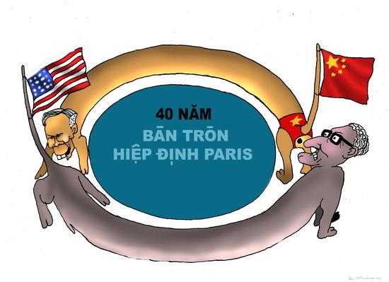 Dư âm và mùi vị của hiệp định Paris