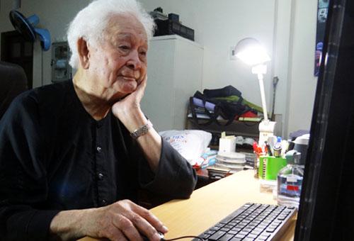 Nhạc sĩ Phạm Duy - Ảnh: Thiên Hương