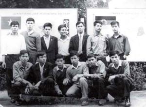 Tác giả và các sv Việt Nam du học tại Liên Xô 1979.