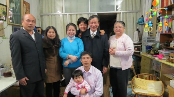 Thăm gia đình luật sư Lê Thị Công Nhân