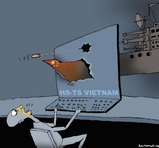 Đừng để bọn phản động biết tin tàu cá VN bị bắn cháy