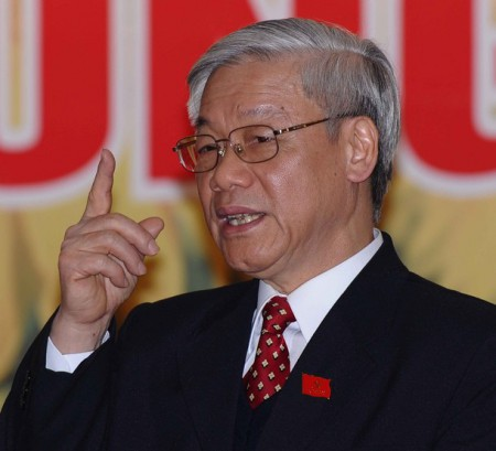 Vietnam Communist Party's newly elected