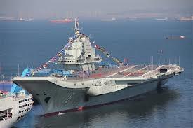Tàu sân bay Liêu Ninh của Trung Quốc mới biên chế vào hạm đội Bắc Hải.