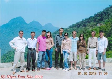 Gia đình ông Huỳnh Ngọc Tuấn
