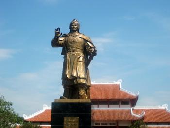 Trượng Quang Trung tại Bình Định