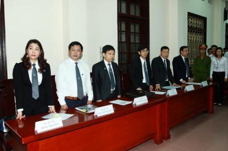 Đoàn bồi thẩm. Ảnh TTX VN