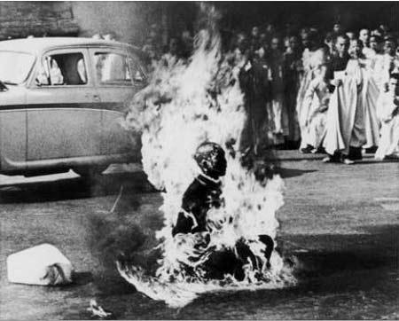 Vụ tự thiêu gây tranh cãi của Hòa thượng Thích Quảng Đức