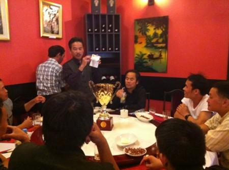 Ông Nguyễn Thành Yên công bố bốc thăm