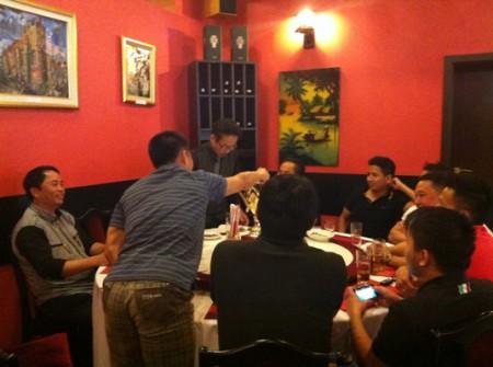 Hội nghị 'bàn tròn' của các câu lạc bộ. Ảnh Đàn Chim Việt