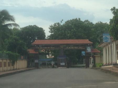 Trại giam Xuân Lộc, nơi xảy ra vụ phạm nhân gây rối - Ảnh: K.C