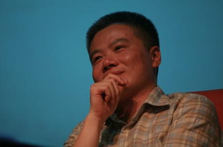 Giáo sư Ngô Bảo Châu tại Hà Nội hôm 9/9. Ảnh:QĐ