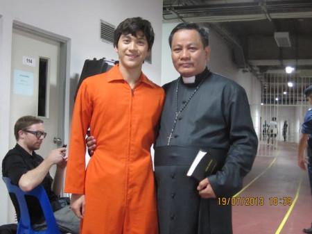 Tài tử Jonathan, người vào vai Nguyễn Tường Vân trong TRAFFICKER