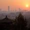 trời Bắc Kinh sáng sớm ngày 06 tháng 11, 2012