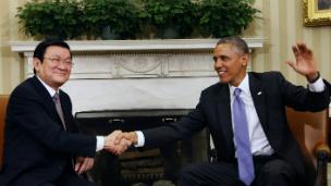 Chủ tịch Sang và TT Obama