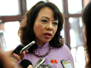 Bộ trưởng Y tế Kim Tiến