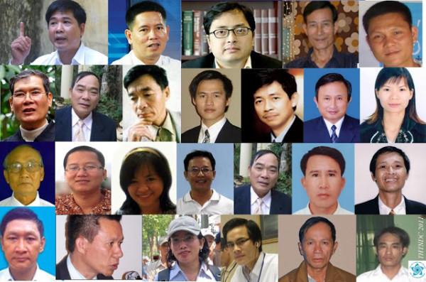 Những Tù Nhân Lương Tâm Việt Nam