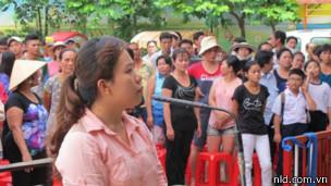 Bị cáo Nguyễn Thị Thanh Xuân bị phạt ba năm tù giam