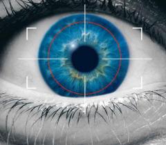 Iris Scanner – Quét vân mắt. Ảnh: Internet