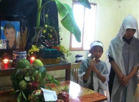 Hung thủ /nạn nhân Đặng Ngọc Viết để lại hai đứa con thơ…