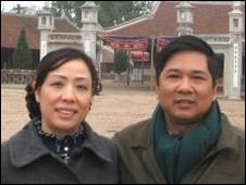 LS Dương Hà và chồng
