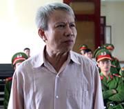 Ông Ngô Hào trong phiên tòa - Ảnh: anninhthudo.vn