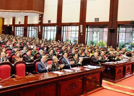 Lễ khai mạc Kỳ họp thứ 6 Quốc hội khóa 13 tại Hà Nội, ngày 21/10/2013. Ảnh Thanh Niên