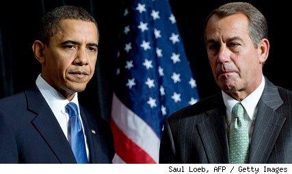 Barack Obama và John Boehner