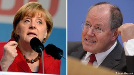 2 ứng viên tranh giành nhau quyết liệt chiếc ghế thủ tướng Đức đầy quyền lực. Nhưng nay hai chính đảng của họ sẽ lại một lần nữa bắt tay nhau để cùng lãnh đạo đất nước