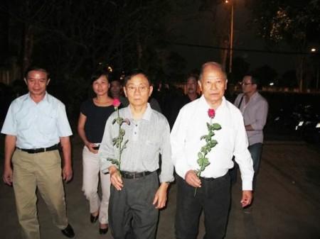 Đoàn Bauxite Việt Nam có mấy bạn tháp tùng