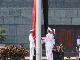 Quốc tang bắt đầu lúc 12h ngày 11/10/2013. Ảnh VTC