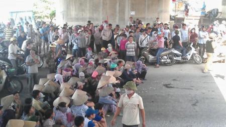 Quang cảnh sáng nay ở Trịnh Nguyễn