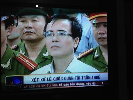 Ảnh chụp từ VTV1