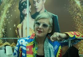 Bà Francine Pairon Giám đốc viện mẫu thời trang Pháp