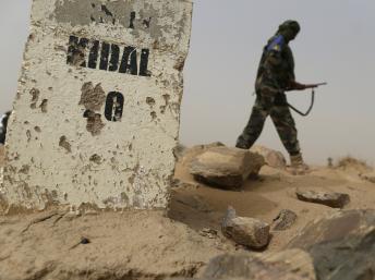 Kidal, nơi hai phóng viên của RFI bị bắt cóc ngày 02/11/2013. AFP/KENZO TRIBOUILLARD