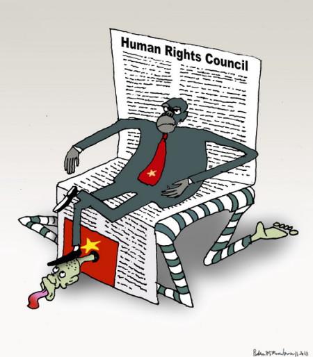 Ba Đình vào Hội đồng Nhân quyền
