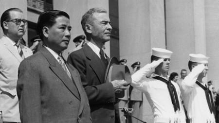 Tổng thống Ngô Đình Diệm được cho là người có quan điểm chống lại sự chỉ đạo của Hoa Kỳ
