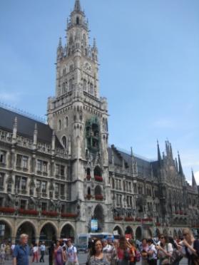 Trung tâm downtown của thành phố München