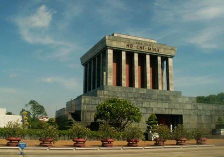 Ho Chi Minh Mausoleum, Hanoi, Vietnam [wikimedia.org]