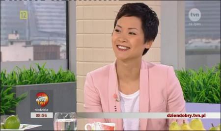 Natalia Nguyễn với chương trình về thiết kế nội thất trên truyền hình Ba Lan