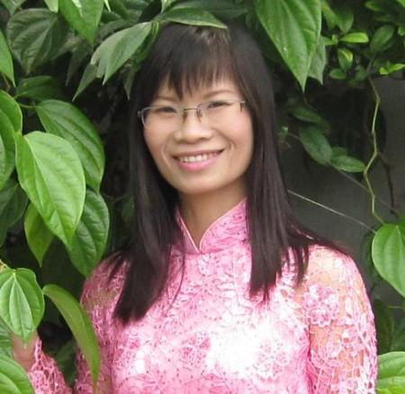 Bà Phạm Thanh Nghiên. Ảnh FB