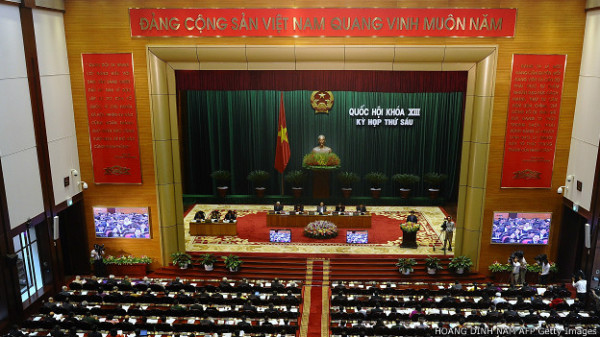 Đại đa số đại biểu thông qua Hiến pháp sửa đổi