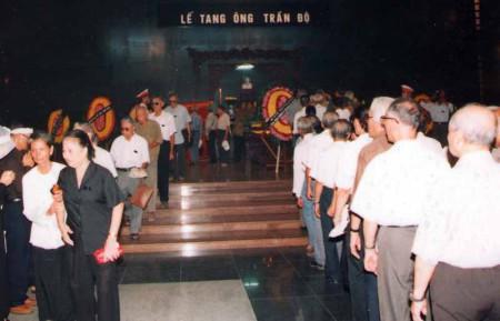 Đám tang Trung tướng Trần Độ Đám tang Trung tướng Trần Độ